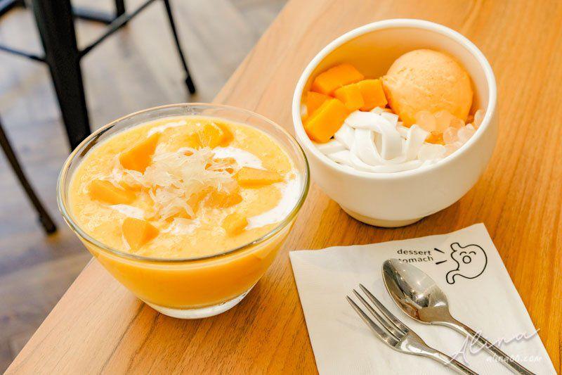 【食記】台北東區 甜品胃 Dessert Stomach港式甜品,楊枝甘露大推薦! @Alina 愛琳娜 嗑美食瘋旅遊
