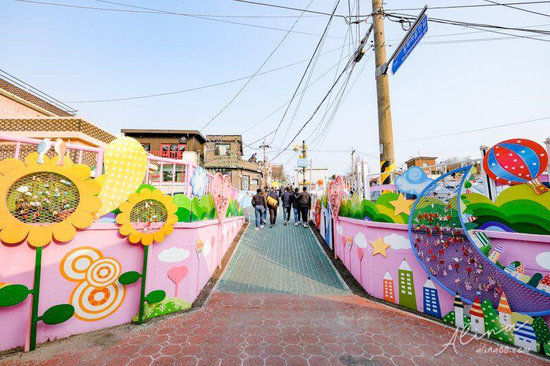 仁川松月洞壁畫村