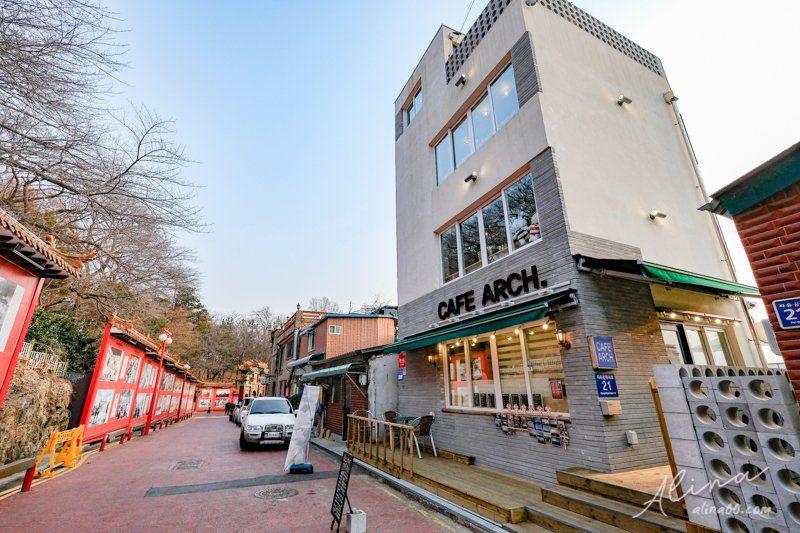 仁川中華街咖啡廳