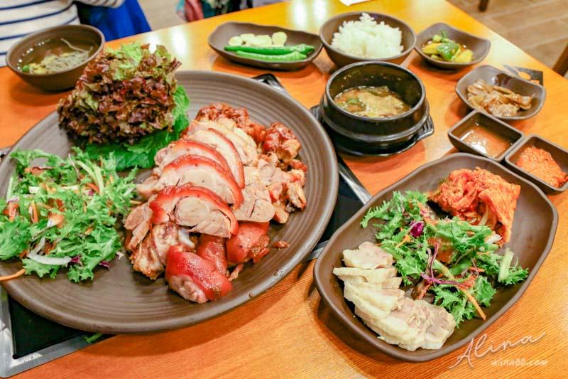 【首爾美食】元祖奶奶菜包肉-弘大.明洞,合滿怡包肉韓國豬腳 @Alina 愛琳娜 嗑美食瘋旅遊