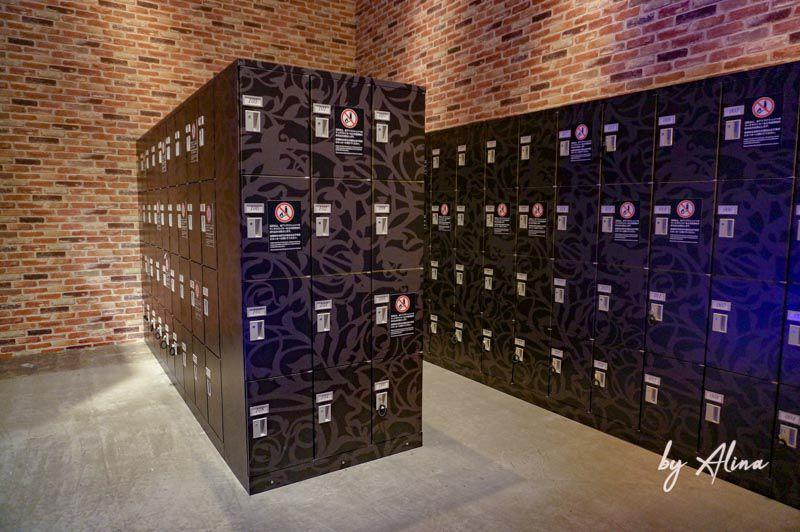 日本環球影城寄物櫃