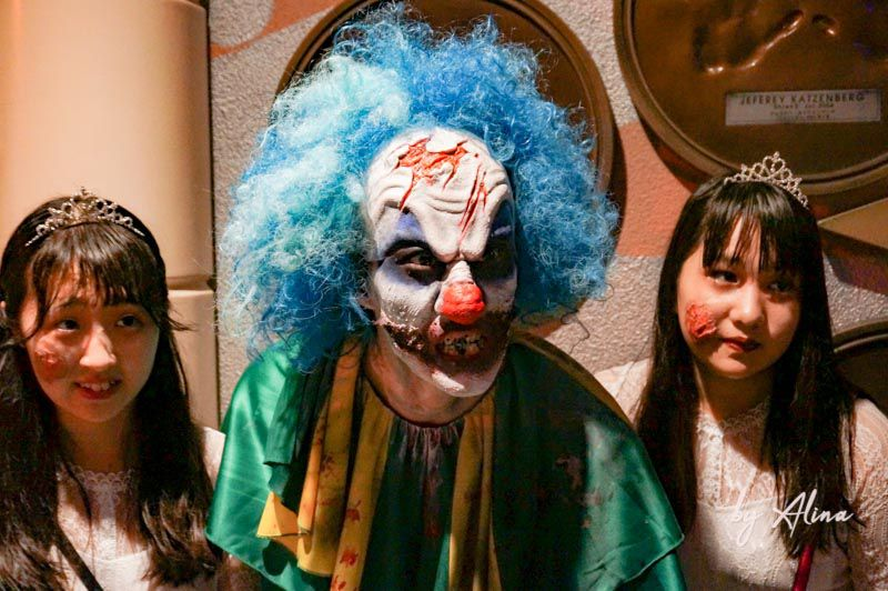 日本環球影城 環球驚喜萬聖節 殭屍遊行