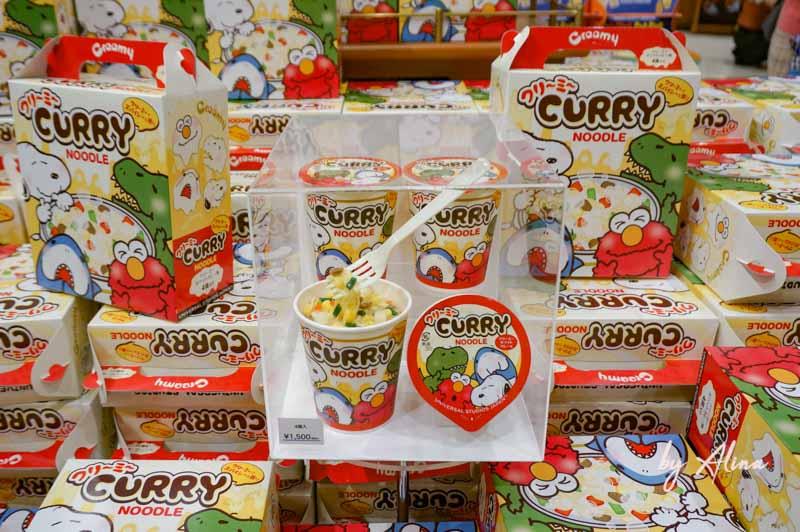 日本環球影城必買 史努比杯麵