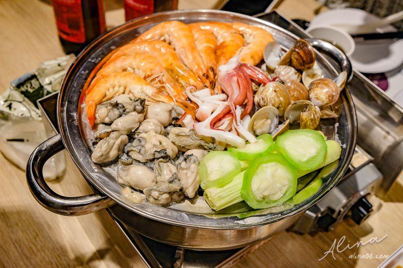 【澎湖美食】鮮食堂 海鮮蒸鍋-新鮮原味海鮮鍋,在地美食推薦 @Alina 愛琳娜 嗑美食瘋旅遊