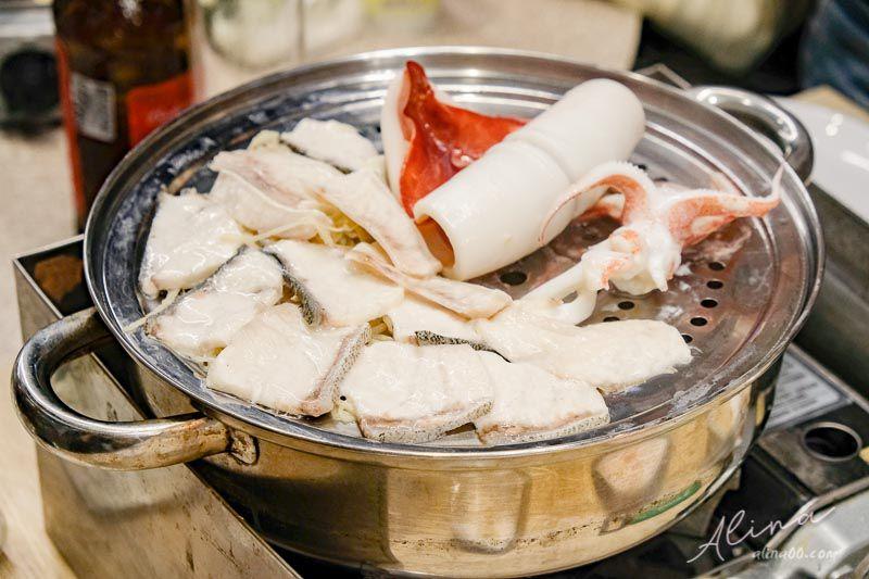 澎湖美食推薦 鮮食堂海鮮蒸鍋