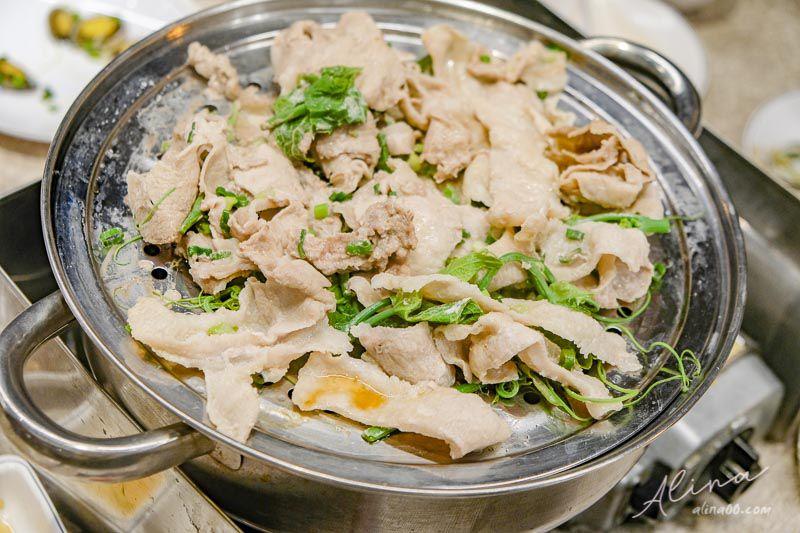 澎湖鮮食堂海鮮蒸鍋 松阪豬拼盤