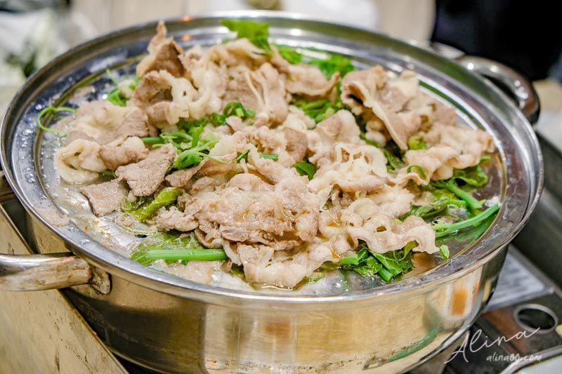 澎湖鮮食堂海鮮蒸鍋 牛肉拼盤