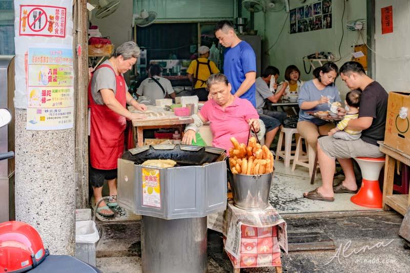 【澎湖美食】文康街 益豐豆漿店-燒餅油條,早餐街裡的熱門美食