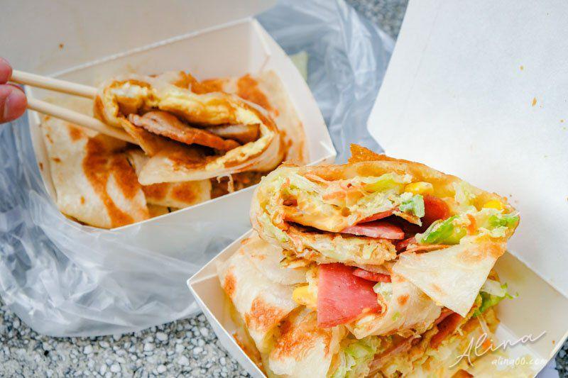 【食記】新北土城 啖餅坊-手工蛋餅早餐,皮脆料多Q彈好吃 @Alina 愛琳娜 嗑美食瘋旅遊