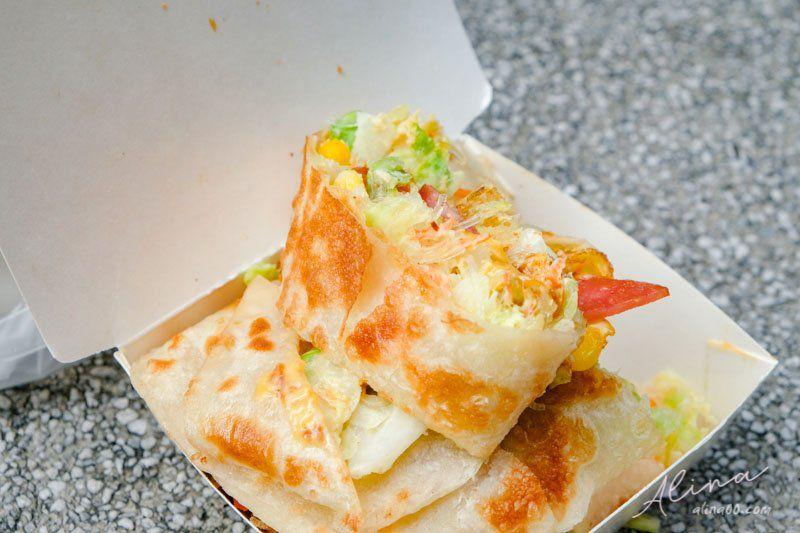 【食記】新北土城 啖餅坊-手工蛋餅早餐,皮脆料多Q彈好吃