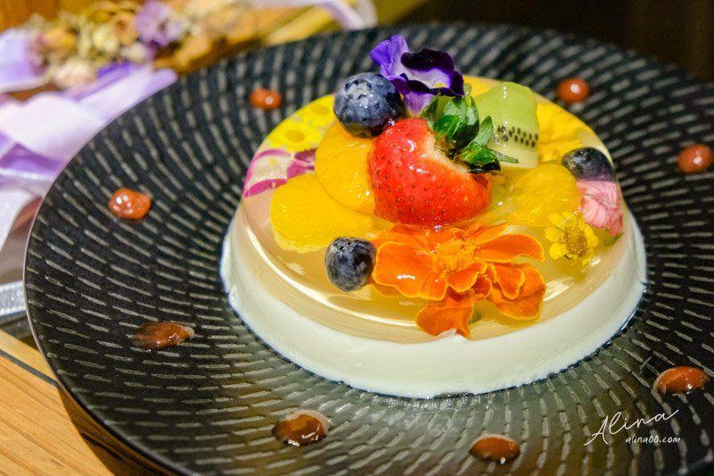 FUJI FLOWER CAFE 水晶花蛋糕