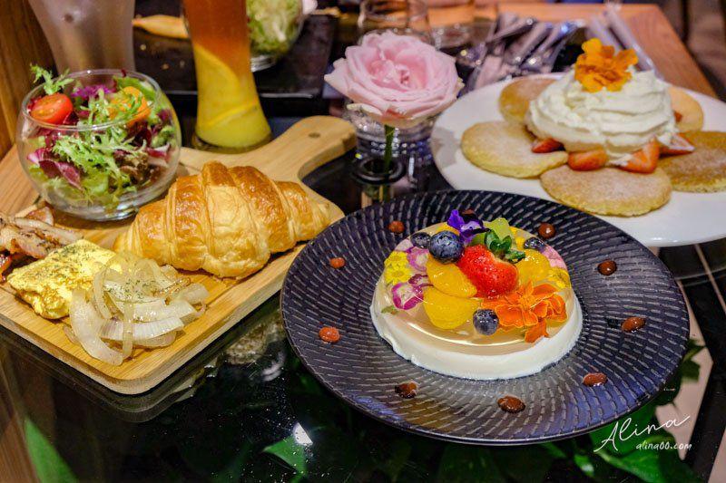 【食記】台北信義 福卉 FUJI FLOWER CAFE 氣質花草咖啡聽 @Alina 愛琳娜 嗑美食瘋旅遊