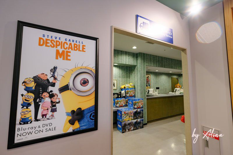 日本大阪環球影城遊客服務中心