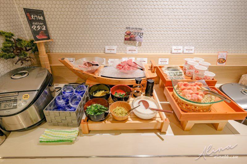 大阪Vessel Inn心齋橋 飯店早餐 黑門市場鮪魚生魚片