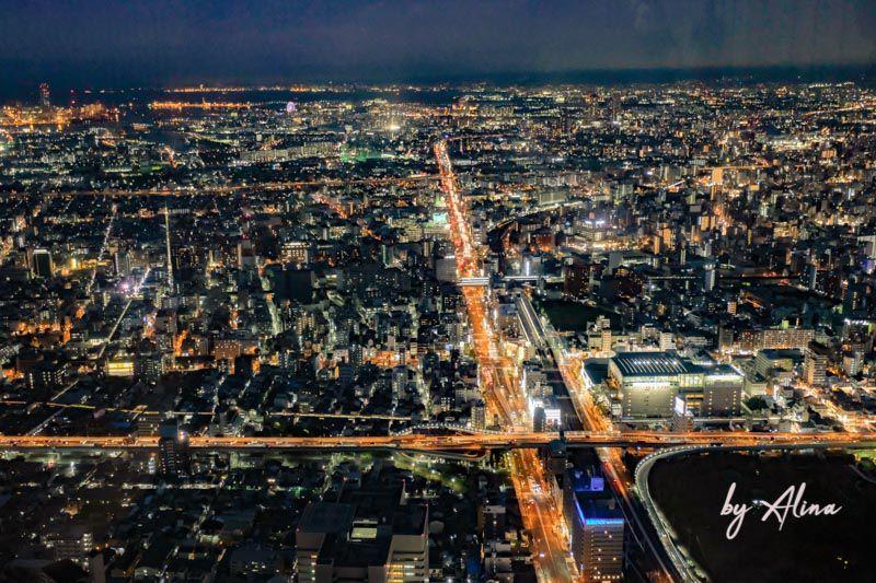 HARUKAS 阿倍野展望台夜景