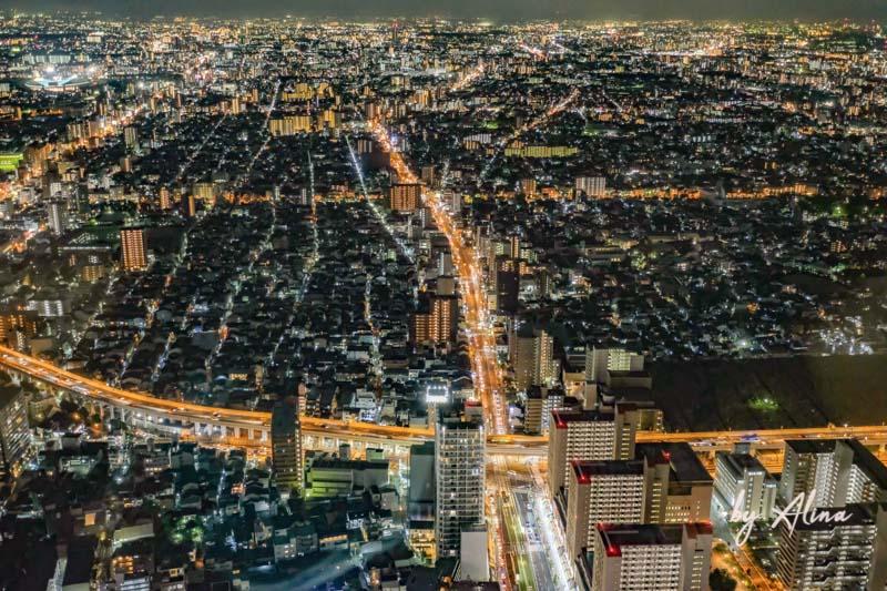 阿倍野展望台葉景