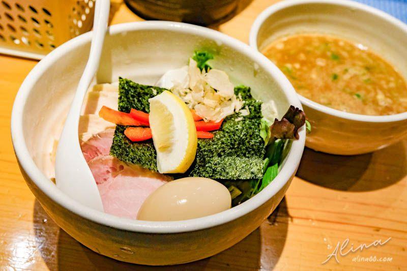 東京銀座 米其林拉麵 Ginza Noodles 特製 鶏と蛤の濃厚つけ麺