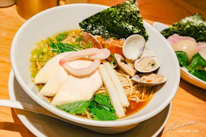 東京美食 銀座米其林拉麵 Ginza Noodles