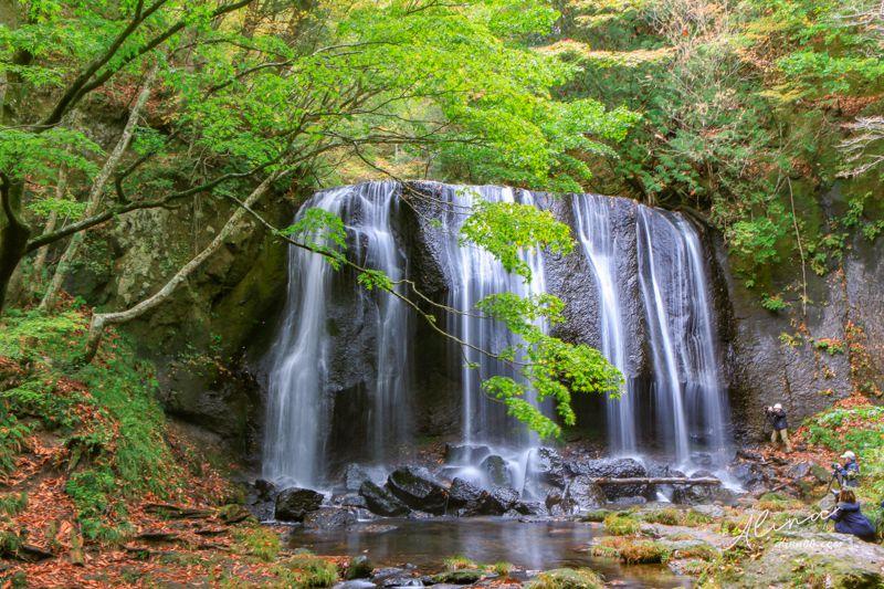 東北福島景點 達澤不動瀑布