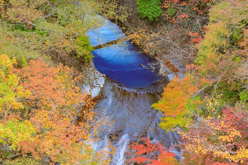 那須平成之森 青い滝