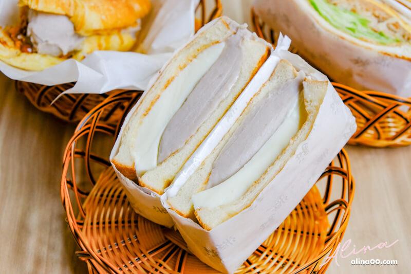 滿樂芋泥奶酪吐司