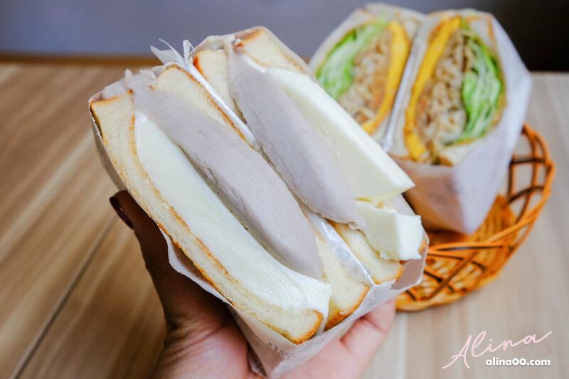 台北芋頭吐司三明治