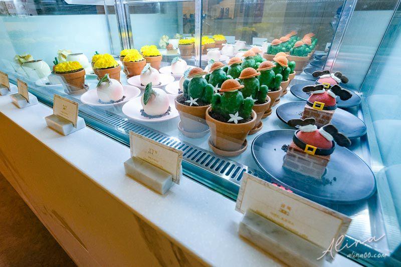 甜點研究所 少女系甜點菜單