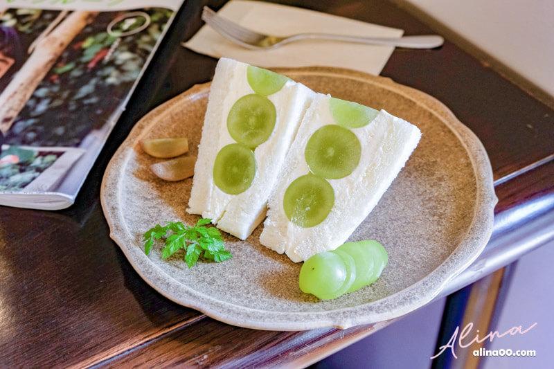 【東京甜點】JULES VERNE COFFEE 高圓寺咖啡館,麝香葡萄三明治 @Alina 愛琳娜 嗑美食瘋旅遊
