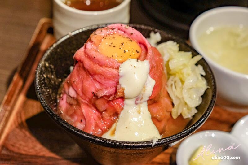 【東京美食】大野牛肉丼 Roast Beef Ohno,黑毛和牛蓋飯大滿足 @Alina 愛琳娜 嗑美食瘋旅遊