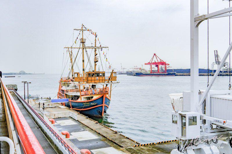 海遊館 聖瑪利亞觀光帆船號