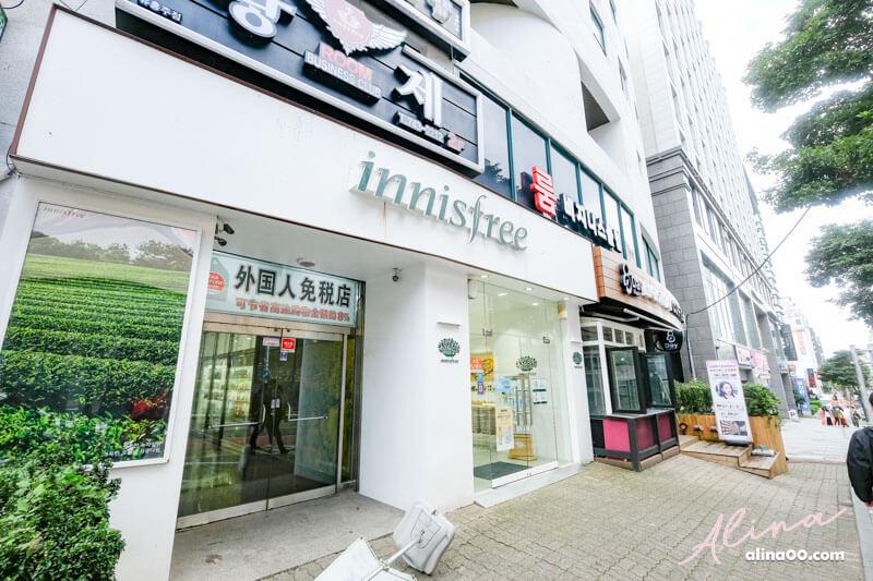 韓國美妝店