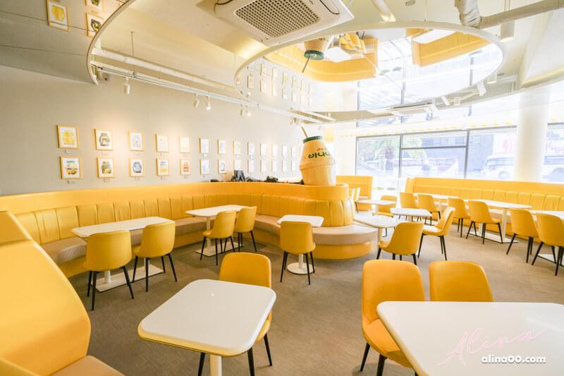 韓國濟州島香蕉牛奶咖啡館 中文觀光園區