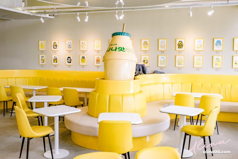 【濟州島自由行】香蕉牛奶咖啡館-YELLOW CAFE,週邊小物好好買 @Alina 愛琳娜 嗑美食瘋旅遊