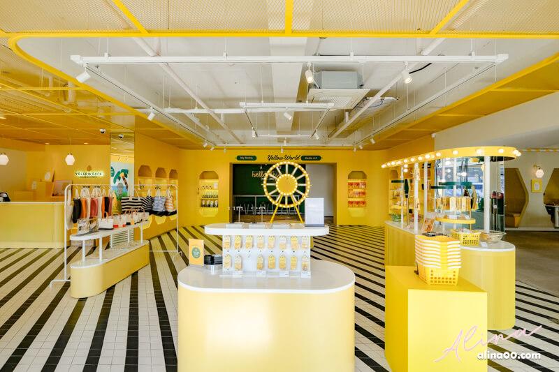 韓國香蕉牛奶咖啡館周邊商品專賣店