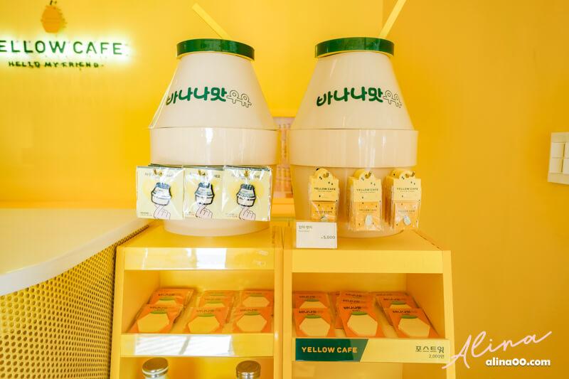 韓國濟州島 YELLOW CAFE