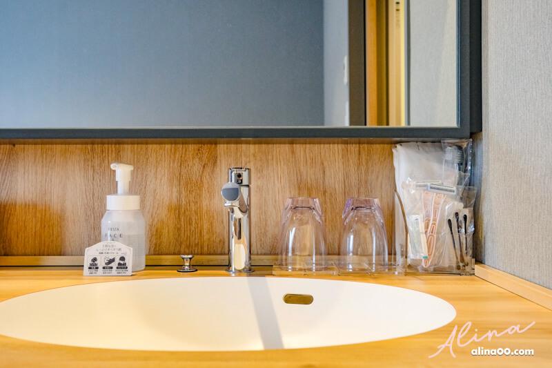 銀座名鐵穆瑟飯店洗手台