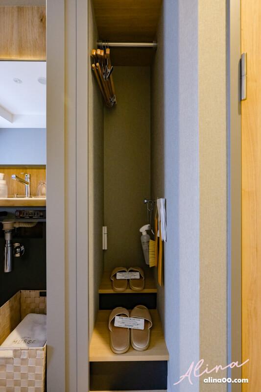 銀座名鐵穆瑟飯店衣櫥