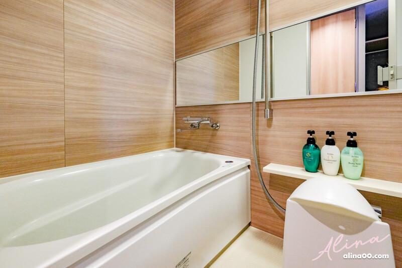 銀座名鐵穆瑟飯店浴室浴缸