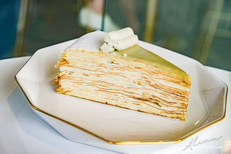 食飴高山烏龍茶千層蛋糕