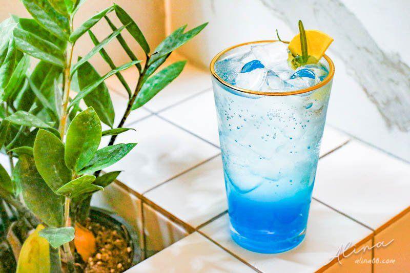 甜點研究所 海洋藍檸檬汽水 블루 레몬 에이드