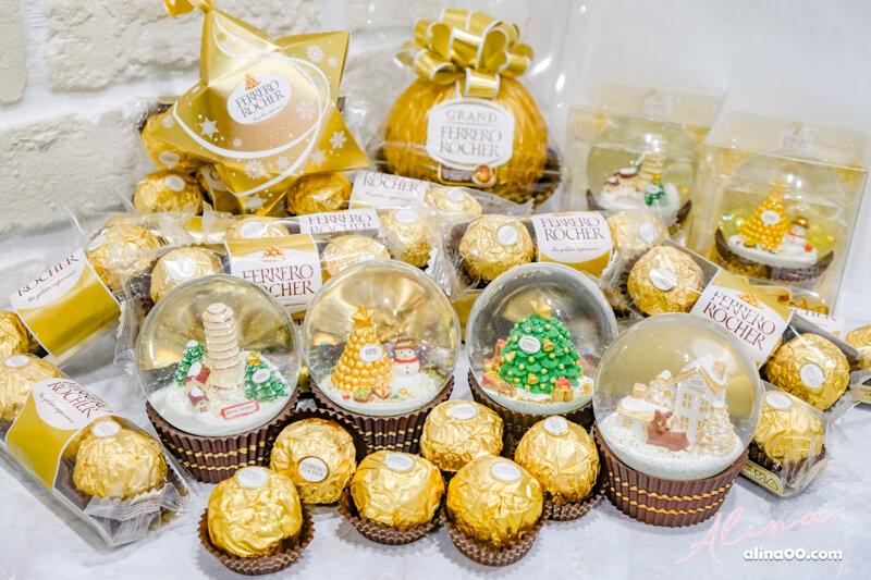 【7-11限定】2018 金莎聖誕水晶球+GODIVA 熱巧克力,慢了等明年! @Alina 愛琳娜 嗑美食瘋旅遊