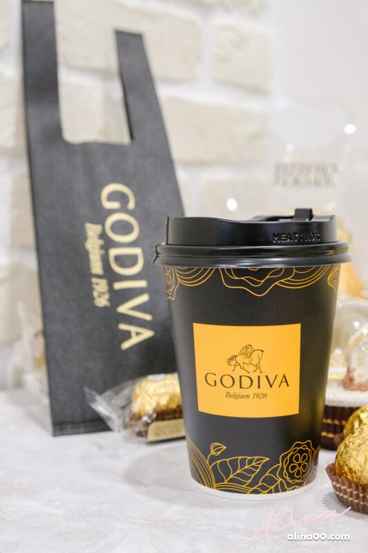 GODIVA 醇黑熱巧克力