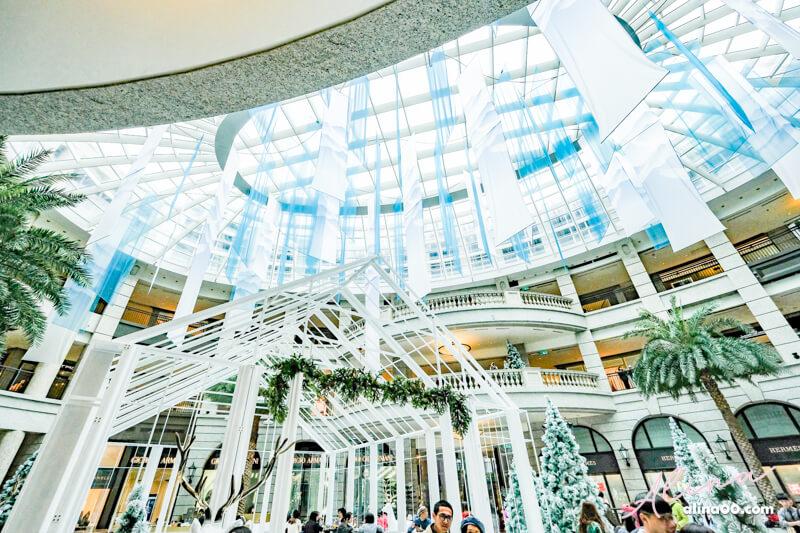 【台北景點】信義區 BELLAVITA 寶麗聖誕奇境-浪漫北歐風玻璃屋