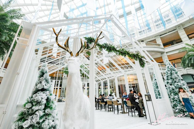台北信義 BELLAVITA 寶麗聖誕奇境-浪漫北歐風玻璃屋