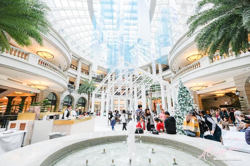 台北信義商圈 BELLAVITA 寶麗聖誕奇境-浪漫北歐風玻璃屋