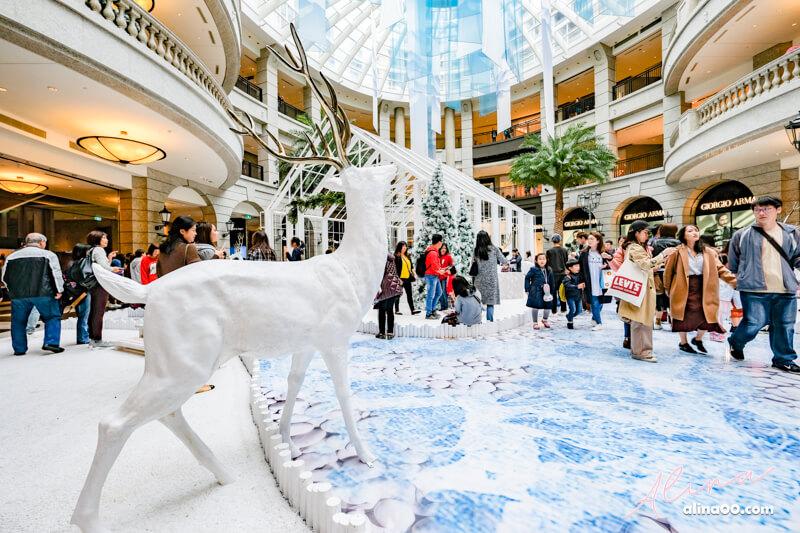 【台北景點】信義區 BELLAVITA 寶麗聖誕奇境-浪漫北歐風玻璃屋 @Alina 愛琳娜 嗑美食瘋旅遊