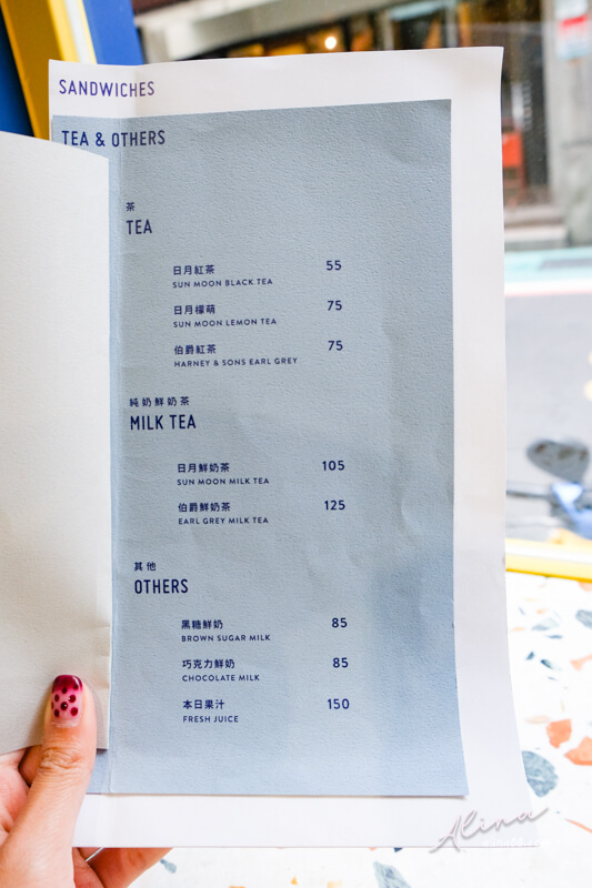 GinGin Coffee 菜單價格