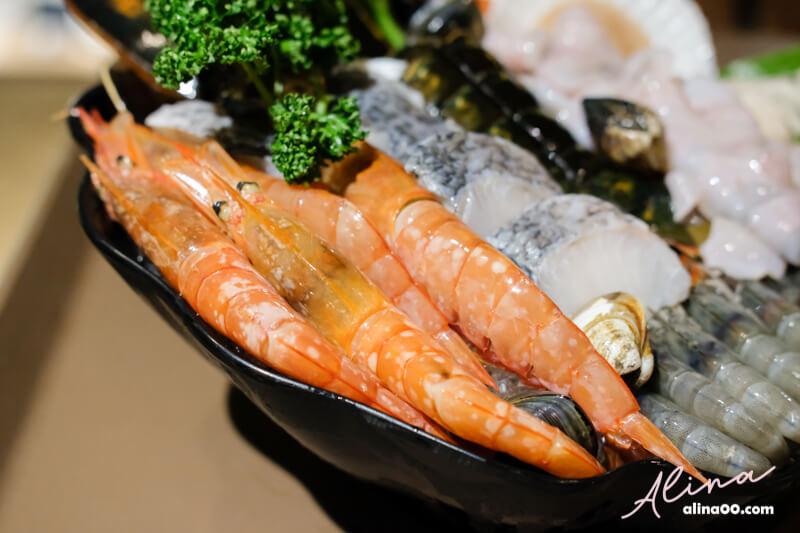 鍋台銘海鮮盤