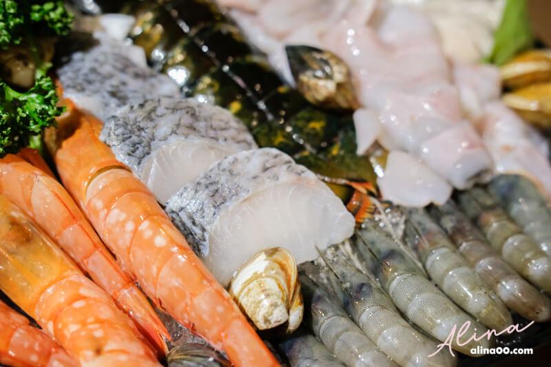 鍋台銘火鍋海鮮盤