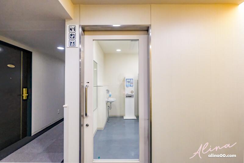 東京神田舒心飯店洗衣間